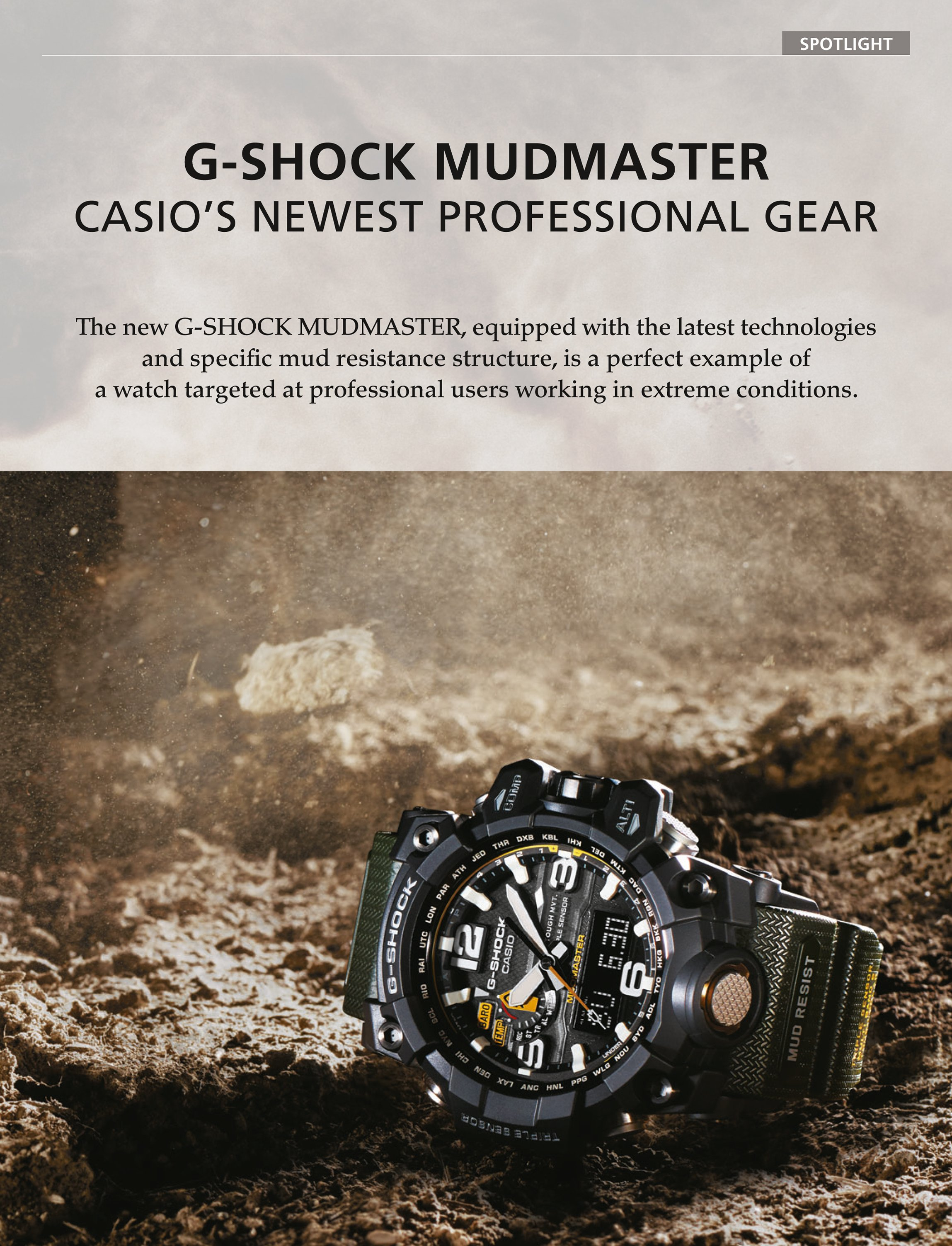 g shock mudmaster casio s newest professional