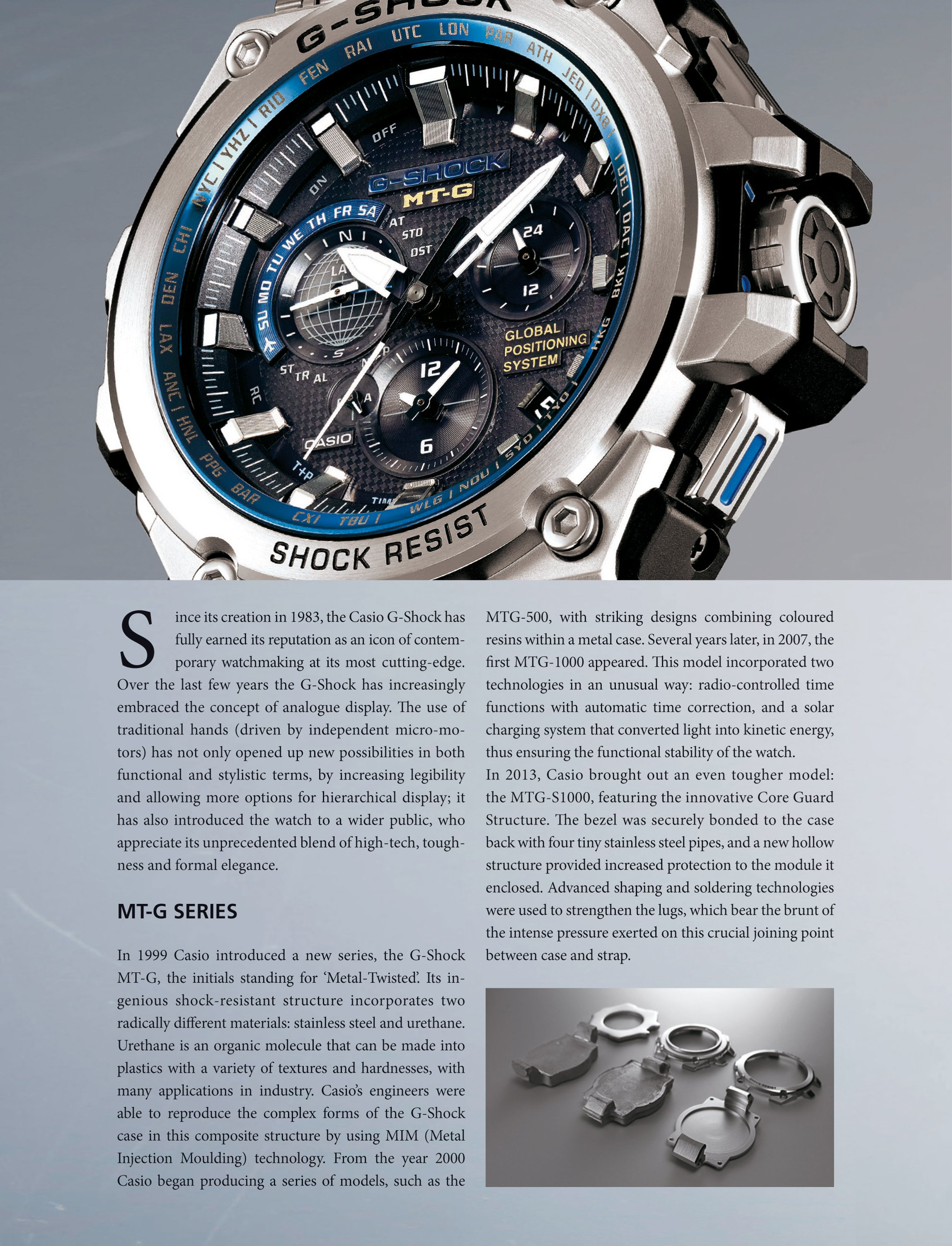 quality design e7953 f4c9c G-SHOCK MTG - G1000: unparalleled performance combined with ...
