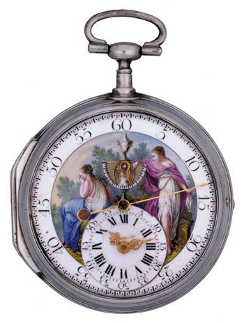 Gevril Pocket Watch Dated 1781 Photo Wiorf Collection