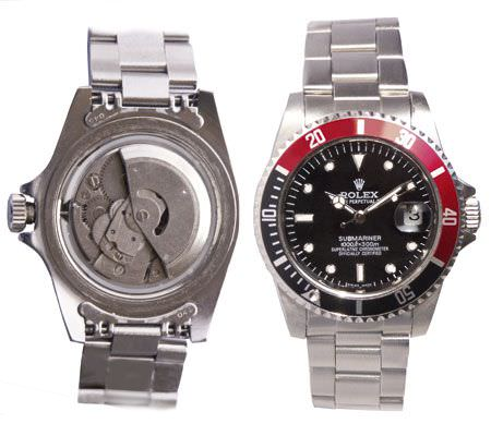 Exhibit 1: Fake Rolex Submariner