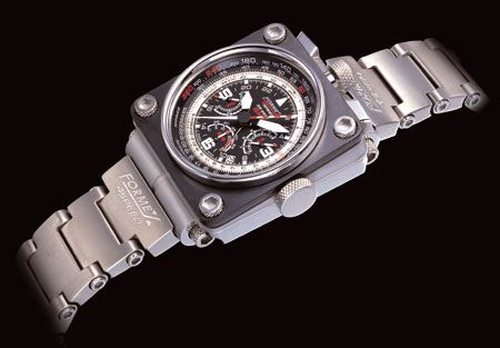Formex 4Speed AS 6500 GMT: Race Watch For The Sky   watch releases