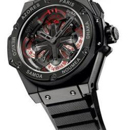 KING POWER UNICO GMT by Hublot
