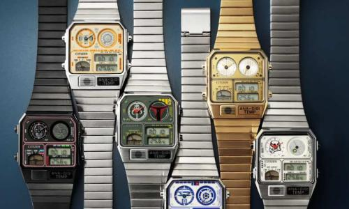 Citizen launches new Ana-Digi Star Wars collection