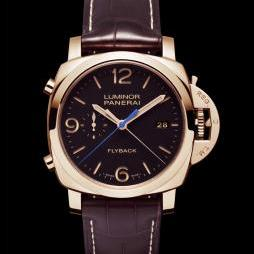 LUMINOR 1950 3 DAYS CHRONO FLYBACK AUTOMATIC ORO ROSSO (44mm) by Panerai