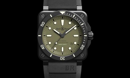 Presenting Bell & Ross' new BR 03-92 Diver Military