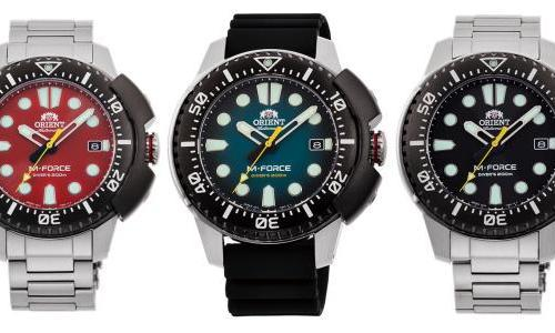 Orient revives the M-Force Sports collection