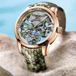 Royal Python Skeleton Tourbillon by Ulysse Nardin