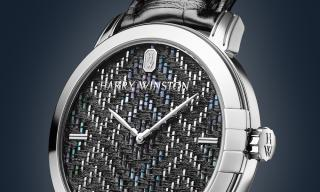 How Harry Winston incorporated a luxury weave into its Midnight Collection