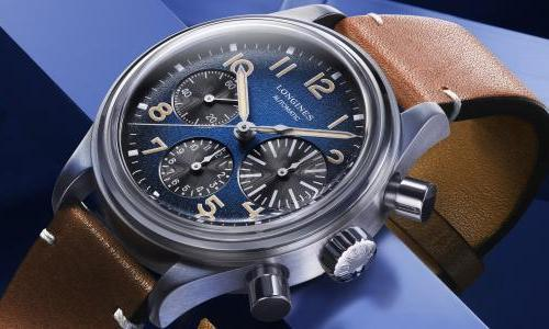 The Longines Avigation BigEye now comes in titanium