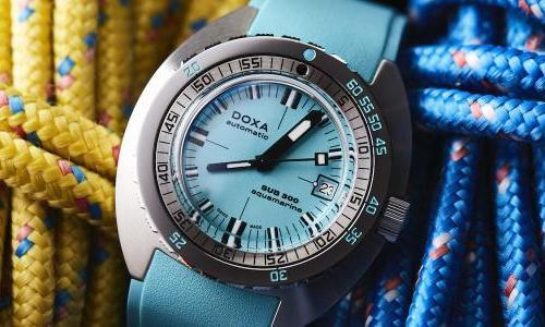 Doxa introduces new colors in its SUB 300 line