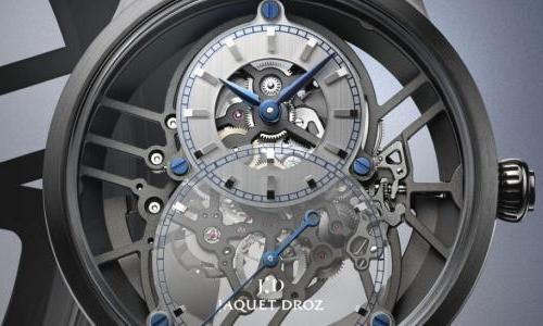 Jaquet Droz Grande Seconde Skelet-One Ceramic