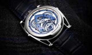 De Bethune: the DB28 Steel Wheels Sapphire Tourbillon