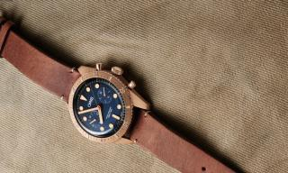 Oris Releases Special Carl Brashear Chronograph in Bronze