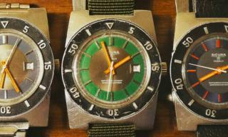 Travel vintage tool watches