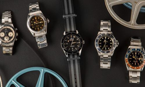 "This week's auction: ""Iconic Watches of Hollywood"""