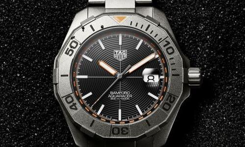 TAG Heuer and Bamford partner on a special Aquaracer edition