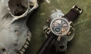 Speake-Marin faces mortality with the new Skull Face to Face Tourbillon
