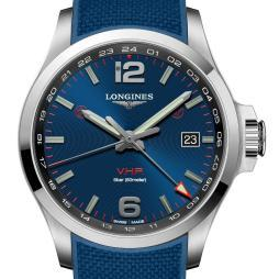 Conquest V.H.P. GMT flash setting by Longines