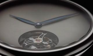 Endeavour Tourbillon Concept in Stainless Steel