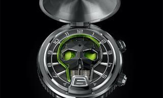 HYT unveils its first ever pocket watch, the Skull Pocket