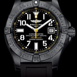 AVENGER SEAWOLF BLACKSTEEL CODE YELLOW by Breitling