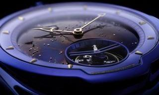 Out of this world: the DB28 Kind of Blue Tourbillon Meteorite