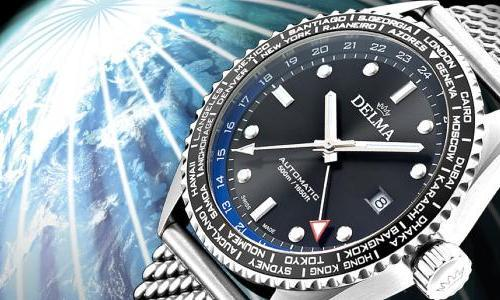 Delma Launches The Cayman Worldtimer
