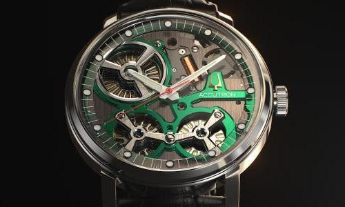 """Accutron becomes a brand in its own right"""