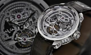 The robust skeleton: the Twenty-8-Eight Skeleton Tourbillon by DeWitt