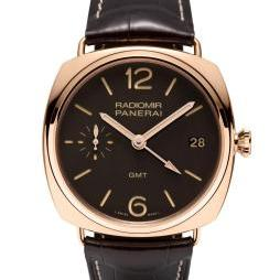 RADIOMIR 3 DAYS GMT ORO ROSSO 47MM by Panerai