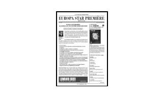 Newsletter Europa Star PREMIERE - Vol.16, No 5 - Octobre/Novembre 2014