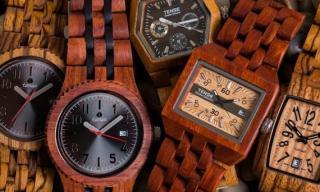 Tense Wooden Watches from a very chill place