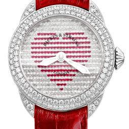 Backes & Strauss Piccadilly Mystery Red Heart