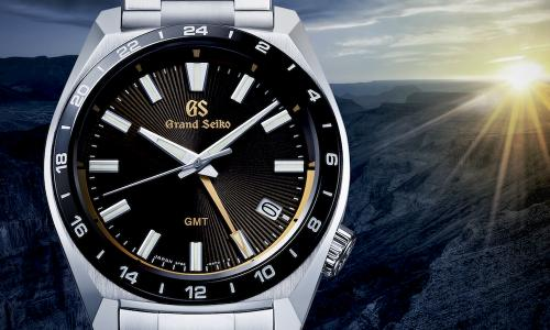 A new design for the Grand Seiko GMT