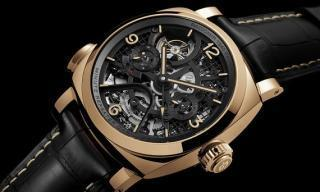 Officine Panerai's new Radiomir 1940 Minute Repeater Carillon Tourbillon GMT is made to impress