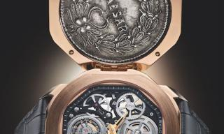 "Bulgari releases two new ""secret"" Monete timepieces"