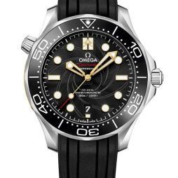 Omega Seamaster Diver 300m James Bond 50th Anniversary