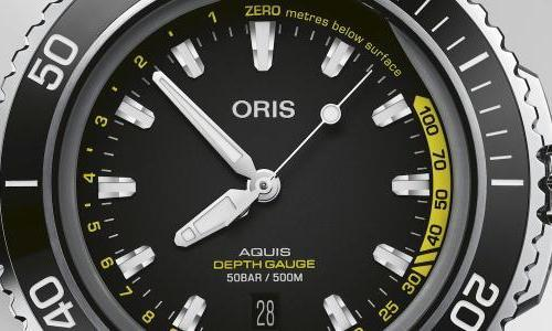 Oris: back into the deep with the Aquis Depth Gauge