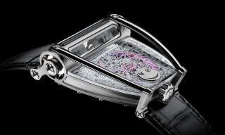 How a ballerina's doodle ended up on the MB&F HM8