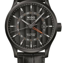 Mido Multifort Dual Time