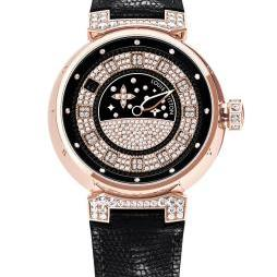 TAMBOUR SPIN TIME JOAILLERIE ROSE GOLD by Louis Vuitton