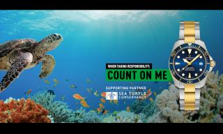 Certina: a new model with the Sea Turtle Conservancy