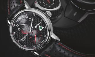 Chronoswiss and Alfa Romeo rev up partnership with a limited edition timepiece
