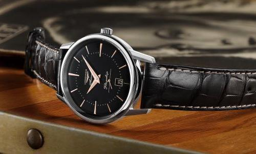 Longines: The Flagship Heritage with black dial