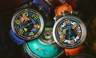 Bomberg, a bolt of colour