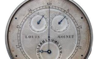 "LOUIS MOINET - The Guinness World Record for the ""First Chronograph Ever"""
