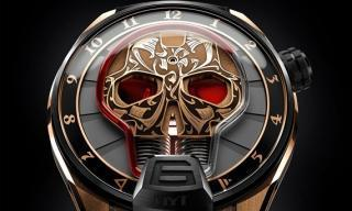 Skull Maori, the watch that looks back at you!