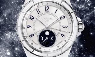CHANEL - J12 Moonphase, exquisite hour