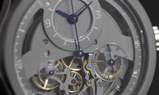 "Sylvain Pinaud and his ""chronographe monopoussoir artisanal"""