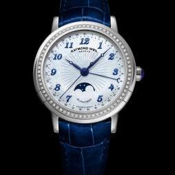 MAESTRO MOON PHASE LADY by Raymond Weil